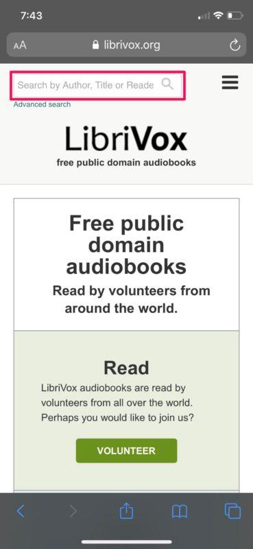 How to Get Free Audiobooks on iPhone & iPad
