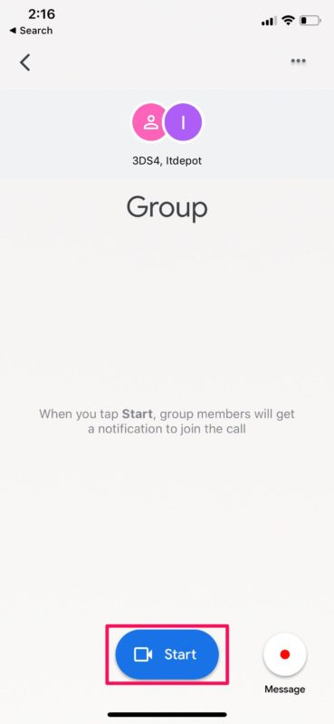 How to Make Group Video Calls with Google Duo on iPhone