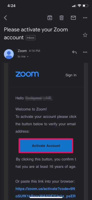 How to Set Up Zoom Meeting on iPhone and iPad