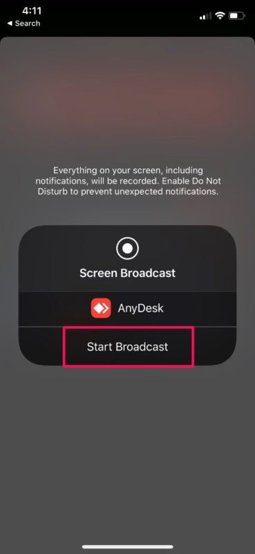 How to Share iPhone & iPad Screen with AnyDesk