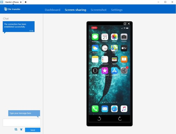 How to Share iPhone & iPad Screen with TeamViewer