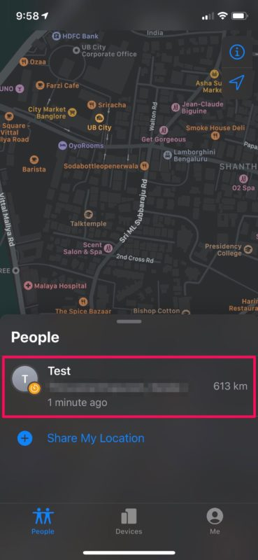 How to Share Location with Find My
