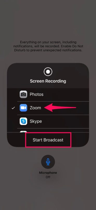 How to Share Screen with Zoom