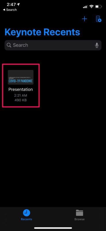 How to Use Keynote Live from iPhone or iPad to Share Presentations
