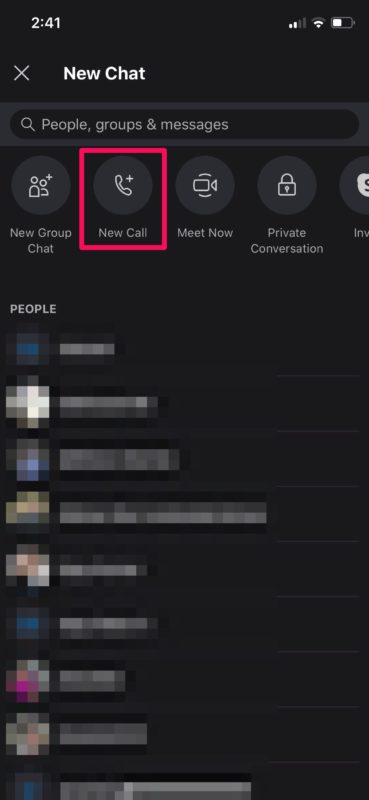 How to Make Video Calls with Skype on iPhone