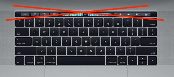 Ignore Touch Bar input