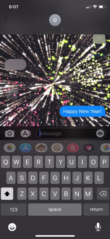 What Words Trigger iMessage Effects? List of iMessage Screen Effect Keywords