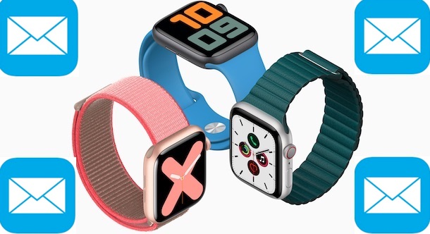 Email and Apple Watch header
