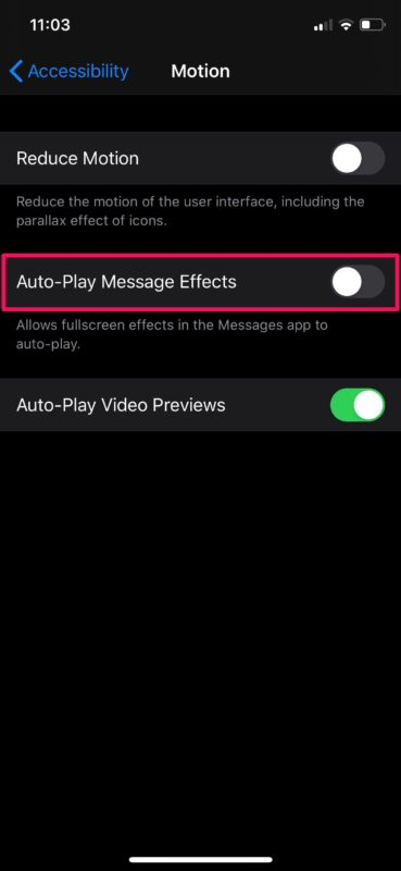 How to Disable iMessage Screen Effects on iPhone