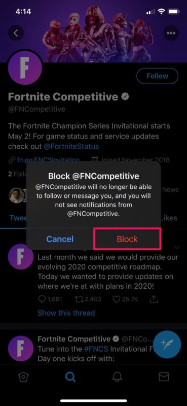 How to Block & Unblock Someone on Twitter