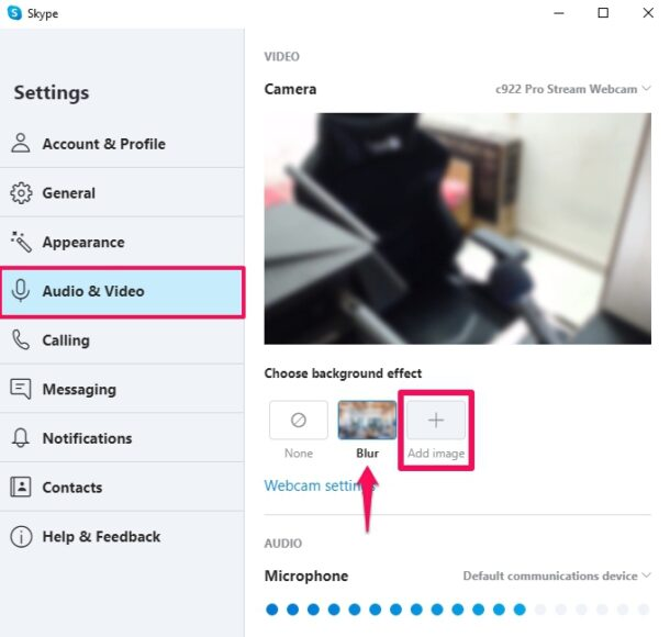 How to Set Custom Background in Skype Video Calls