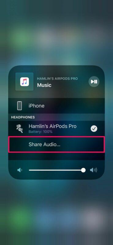 Cách chia sẻ nhạc với AirPods từ iPhone của bạn chỉ với 3 bước 7