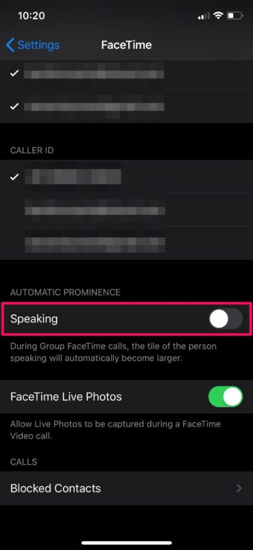 How to Stop Moving Faces in Group FaceTime