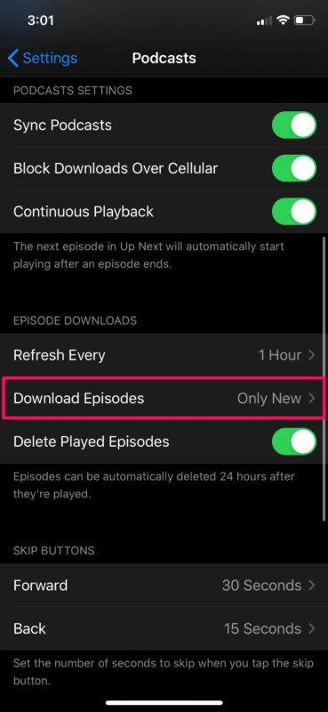 How to Stop Podcasts Auto-Downloading New Episodes to iPhone & iPad