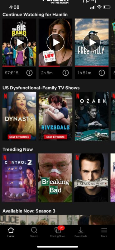 How to Enable / Disable Subtitles on Netflix on iPhone, iPad, Apple TV