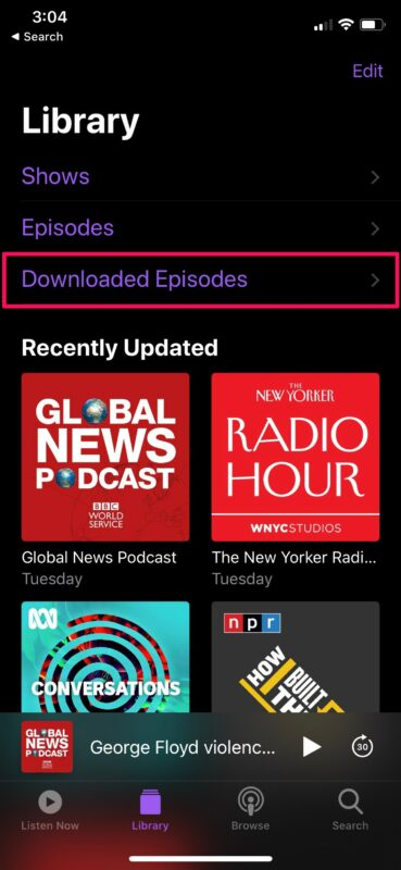 How to Download Podcasts on iPhone to Listen Offline