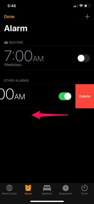 How to Set Alarm Clock on iPhone