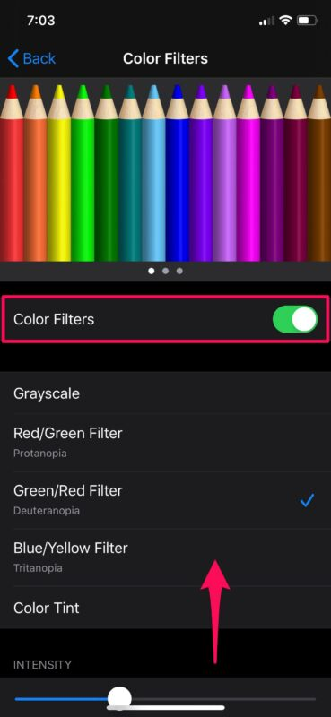 How to Use Color Filters on iPhone & iPad