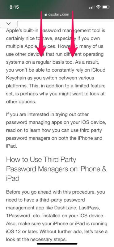 How to Use Speak Screen in Safari on iPhone & iPad