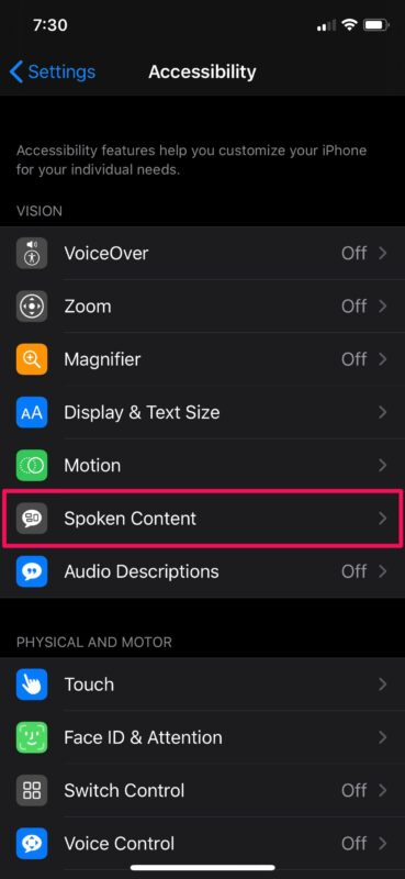 How to Use Speak Selection on iPhone & iPad