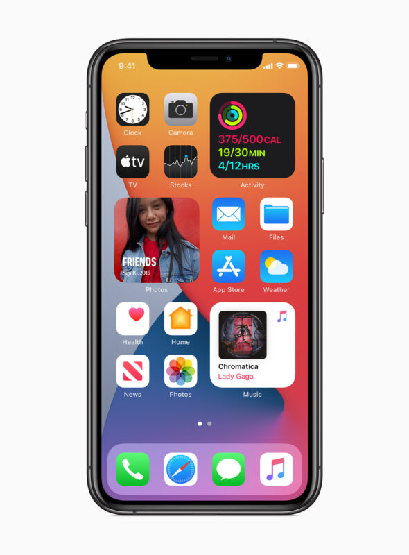 iOS 14 for iPhone new home screen widgets