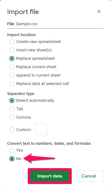 How to Open a CSV in Google Sheets