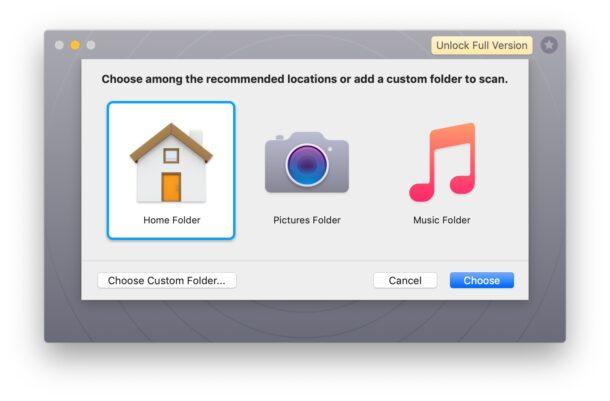 Gemini duplicate file finder for Mac