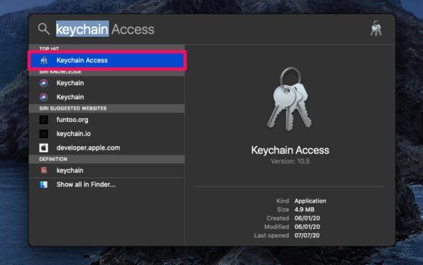 How to Change Keychain Password on Mac