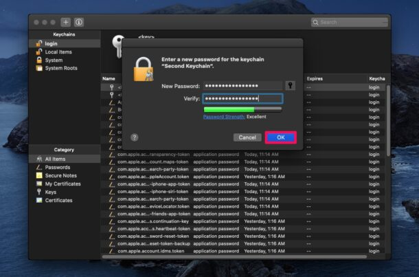 How to Create a New Keychain on Mac