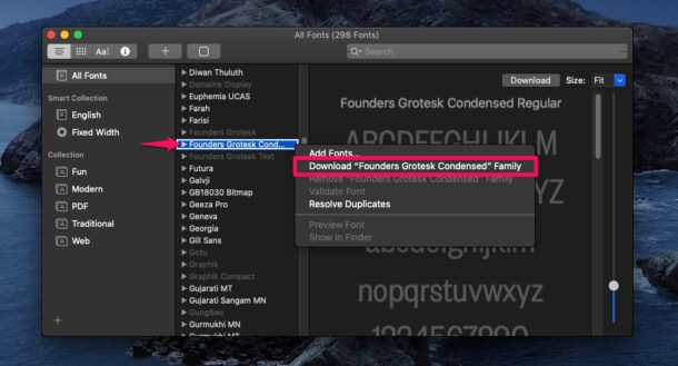 How to Install New Hidden Fonts in MacOS Catalina & Big Sur
