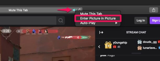 How to Use Picture-in-Picture Video in Safari for Mac