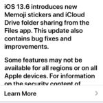 iOS 13.6 update download