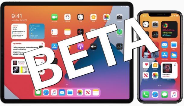 iOS 14 beta and iPadOS 14  beta