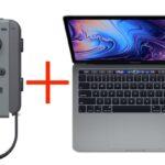 Macbook Pro and Joy-Con