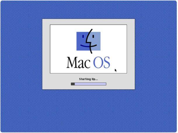 Booting Mac OS 8.1