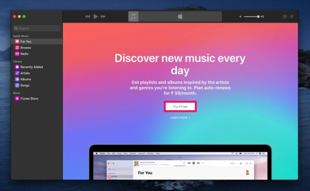 How to Subscribe to Apple Music on Mac