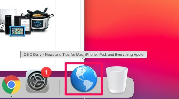 How to Add Chrome Bookmarks to Mac Dock