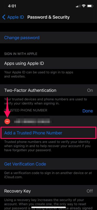 How to Add or Remove Trusted Phone Numbers on iPhone & iPad