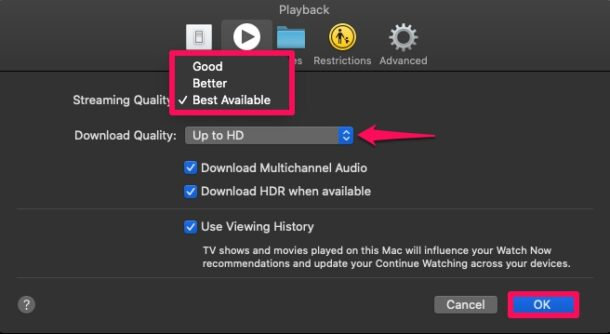 How to Change Apple TV+ Playback Quality on Mac