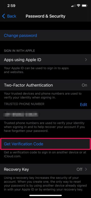 How to Manually Get Verification Codes For Apple ID on iPhone & iPad