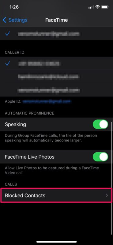 How to Block Facetime Callers on iPhone & iPad