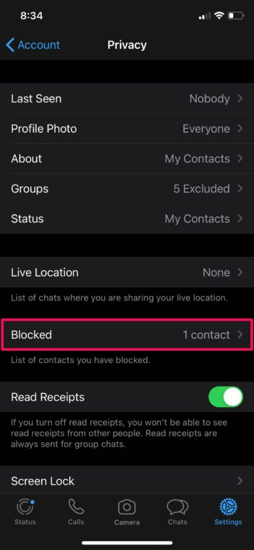 How to Block & Unblock Someone on WhatsApp for iPhone