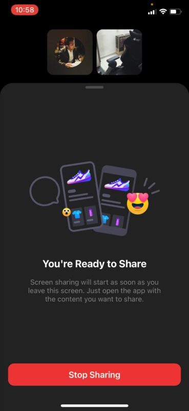 How to Screen Share iPhone with Facebook Messenger