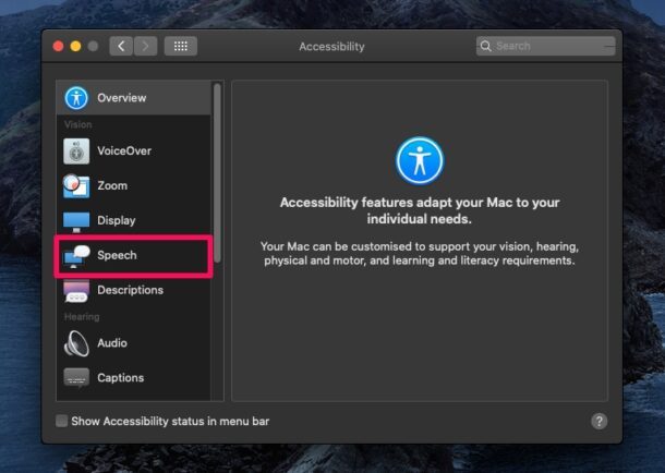 How to Use Speak Selection on Mac