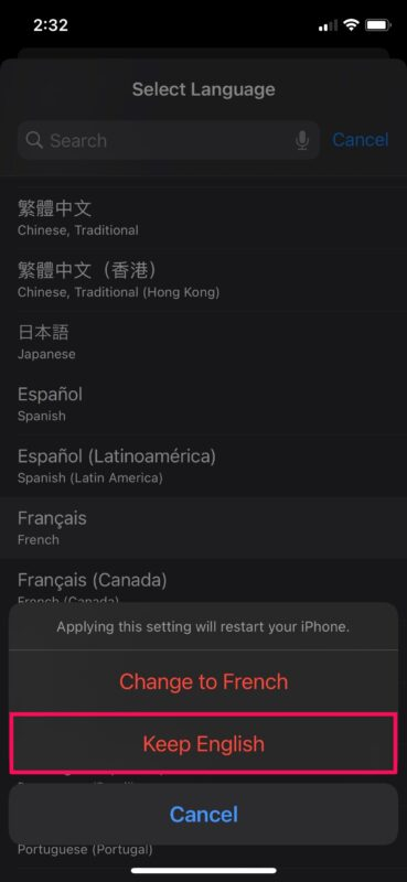 How to Set Preferred Language and Change Region on iPhone