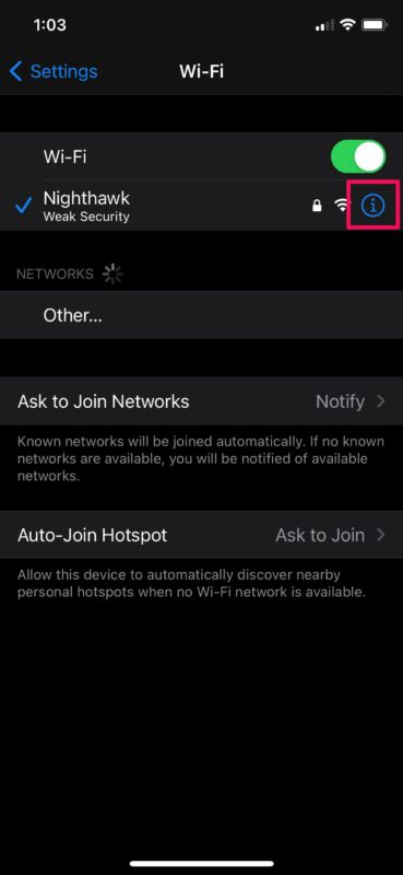 How to Enable & Disable Private Wi-Fi Address on iPhone & iPad to Increase Privacy