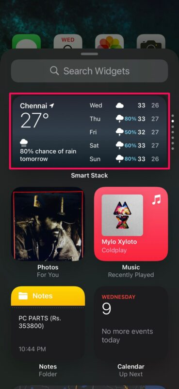 How to Add Widgets to iPhone Home Screen