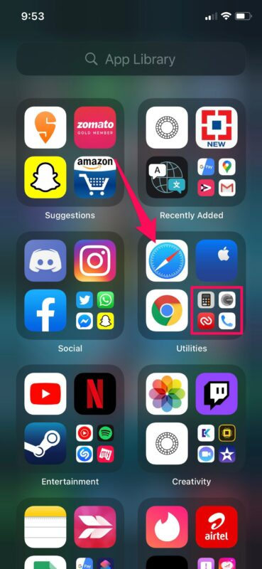 How to Use App Library on iPhone