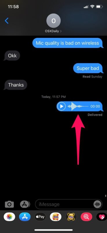 How to Send Audio Messages with Siri from iPhone