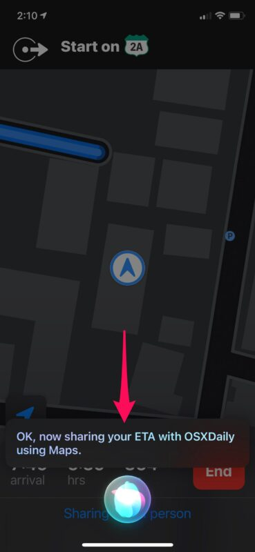 How to Get Siri to Share ETA When Navigating with Apple Maps